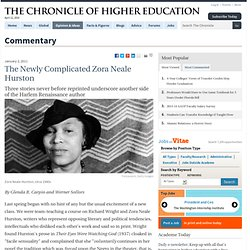 The Newly Complicated Zora Neale Hurston - Commentary