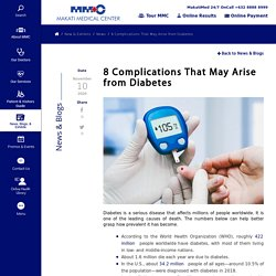 8 Complications That May Arise from Diabetes