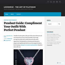 How to Get a Fabulous Diamond Pendant on a Tight Budget