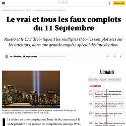 Le vrai et tous les faux complots du 11Septembre - 19 novembre 2013