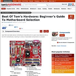 Component Overview : Best Of Tom's Hardware: Beginner's Guide To Motherboard Selection