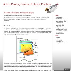 The Main Components of the Steam Engine « A 21st Century Vision of Steam Traction
