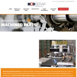 Precision Machined Components Manufacturers Gurgaon