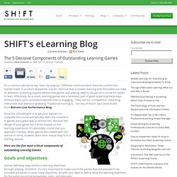 The 5 Decisive Components of Outstanding Learning Games