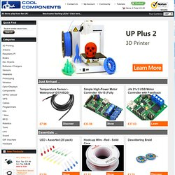 ol Components - Olimex, Arduino, Sparkfun, GPS, Bluetooth, PIC MCUs, ARM MCUs, programmers, debuggers and much more.