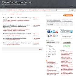 Comportamento Informacional | Paulo Barreiro de Sousa