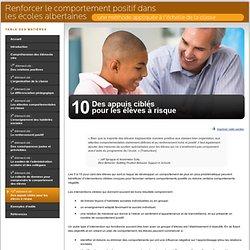 10e élément clé : Des appuis ciblés pour les élèves à risque
