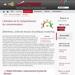 L'émotion et le comportement du consommateur