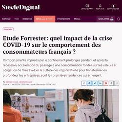 Etude Forrester: quel impact de la crise COVID-19 sur le comportement des consommateurs français ?