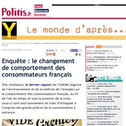 Enquête : le changement de comportement des consommateurs français