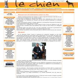 Le site consacré au chien : information, comportement, éducation et réglementation.