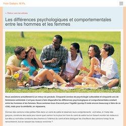 Les différences psychologiques et comportementales entre les hommes et les femmes - Yvon Dallaire, M.Ps.