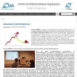 Centre de Mathématiques Appliquées