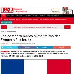 Les comportements alimentaires des Français... - Grande Distribution et consommation