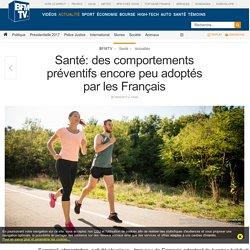 Santé: des comportements préventifs encore peu adoptés par les Français