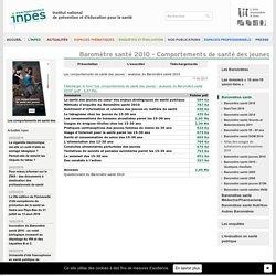 Les comportements de santé des jeunes : analyses du Baromètre santé 2010 - Téléchargements