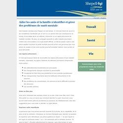 Établir solidement les fondements d'une bonne santé mentale : les composantes essentielles