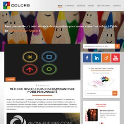 Méthode des couleurs : Les composantes de notre personnalité