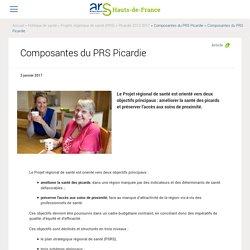 Composantes du PRS Picardie