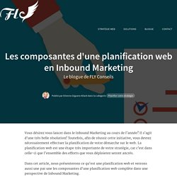 Les composantes d'une planification web en Inbound Marketing