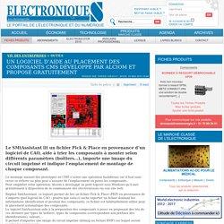 Un logiciel d'aide au placement des composants CMS développé par Alciom et proposé gratuitement