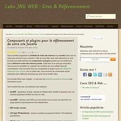 Composants et plugins pour le référencement de votre site Joomla