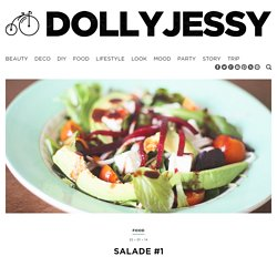 Salade composée, Dollyjessy (Jessica Djaafar)Dollyjessy