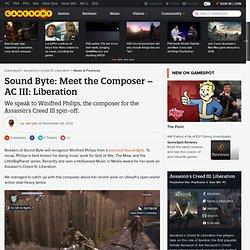 Sound Byte: Meet the Composer – AC III: Liberation