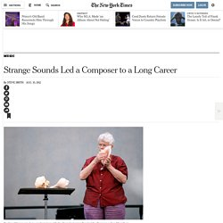 The Composer Pauline Oliveros Stays Busy at 80