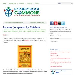 Famous Composers for Children