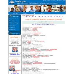 noms composés et adjectifs composés au pluriel