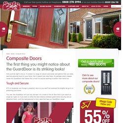 UPVC Composite Front Doors
