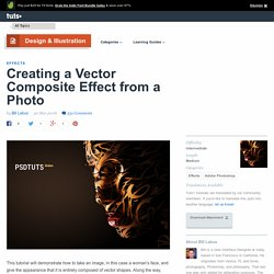 Creating a Vector Composite Effect from a Photo