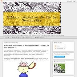 Billets composites de Flolasouricette : Education non violente et développement du cerveau, un duo gagnant ?