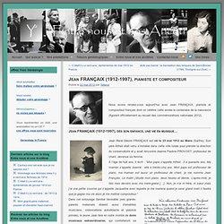 Jean FRANÇAIX (1912-1997), pianiste et compositeur