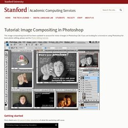 Tutorial: Image Compositing in Photoshop