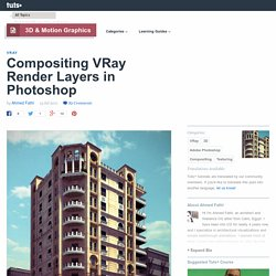 Compositing VRay Render Layers in Photoshop