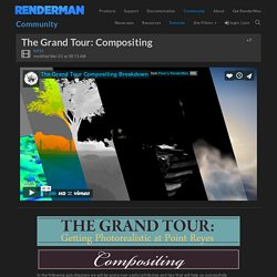 The Grand Tour: Compositing - RenderMan Community