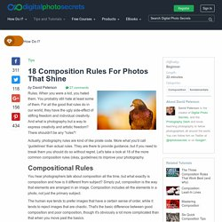 18 Composition Rules For Photos That Shine
