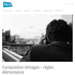 Composition d'images - règles élémentaires