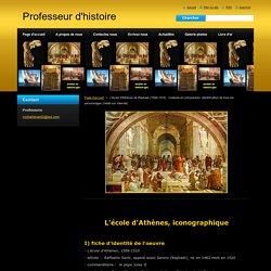 L'école d'Athènes de Raphaël (1509-1510) : contexte et composition, identification de tous les personnages (inédit sur internet)