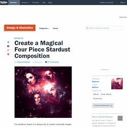 Create a Magical Four Piece Stardust Composition