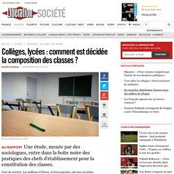 Collèges, lycées: comment est décidée la composition des classes?
