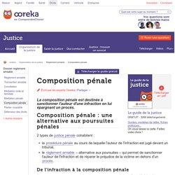 Composition pénale : infos - Ooreka