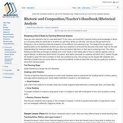 teaching analytical essays
