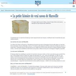 Composition du savon de Marseille : le vrai savon de Marseille