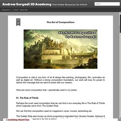 Andrew Suryadi 3D Academy: The Art of Composition