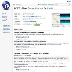 BEAST/BSE News