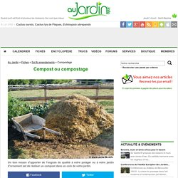 Compost ou compostage