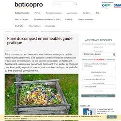 Faire du compost en immeuble : guide pratique